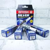 Свеча Brisk Silver DR17YS (под ГАЗ 405)  Чехия(4шт.)
