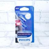 Лампа Philips 12В W5W Blue Vision (2 шт)