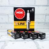 Свеча NGK V-Line N04 (5637) BАЗ 2101 Япония (4шт)
