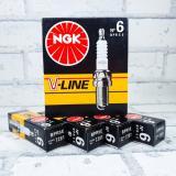 Свеча NGK V-Line N06 (7281) ГАЗ дв.406 Япония (4шт)