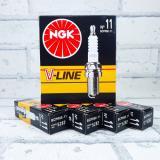 Свеча NGK V-Line N11 (5282) ВАЗ 2110 16 клап. Япония (4шт.)