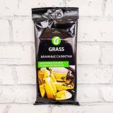 GRASS Влажные салфетки для ухода за интерьером а/м 30шт (16)