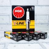 Свеча NGK V-Line N18 (3975) ГАЗ дв.402  Япония (4шт.)