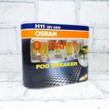 Лампа Osram 12В H11 55Вт FOG Breaker  (64211FBR2) Eurobox