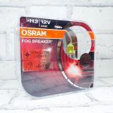 Лампа Osram 12В H3 55Вт FOG Breaker  (64151FBR2) Eurobox