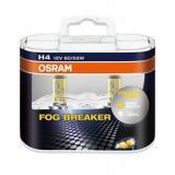 Лампа Osram 12В H4 60/55Вт FOG Breaker  (64193FBR2) Eurobox