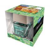 Ароматизатор TASOTTI  SECRET CUBE (green tea )  банка с деревянной крышкой