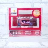Лампа ELEMENT 12В Н7 55Вт +200% DUOBOX (94710L)